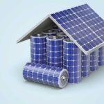 home made of solar cell batteries